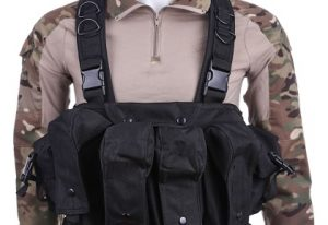 Mag chest rig black