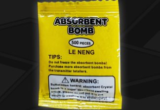 x force absorbent bomb