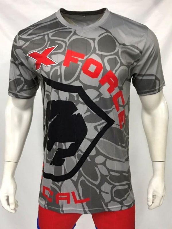 tshirt black red front