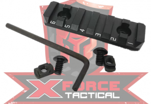 xforce picatinny rail 2 inch